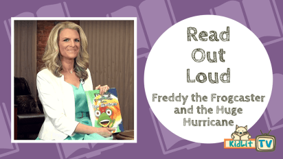 Read Out Loud | Freddy the Frogcaster and the Huge Hurricane