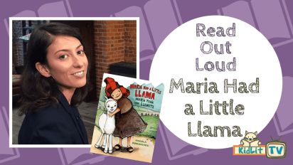 Read Out Loud | Maria Had A Little Llama (Bilingual)