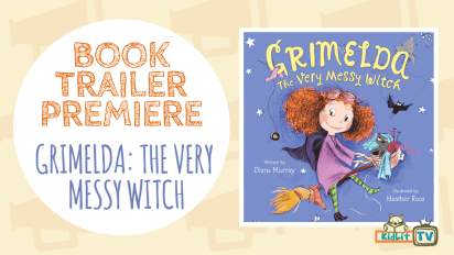 BOOK TRAILER PREMIERE | Grimelda: The Very Messy Witch