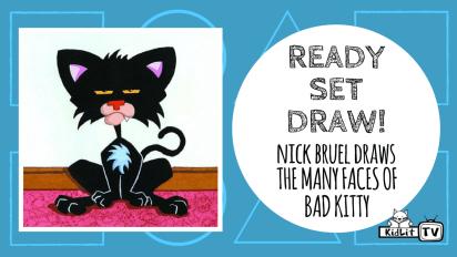 Ready Set Draw! How to Draw BAD KITTY