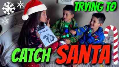 When I tried to catch Santa…