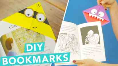 Easy DIY Children's Bookmarks