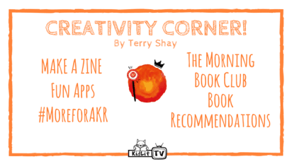 Creativity Corner: Make a Zine and more!