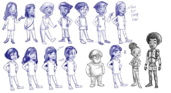Character art by Larissa Marantz