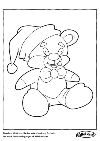 Download Free Christmas Coloring Pages 5 and educational