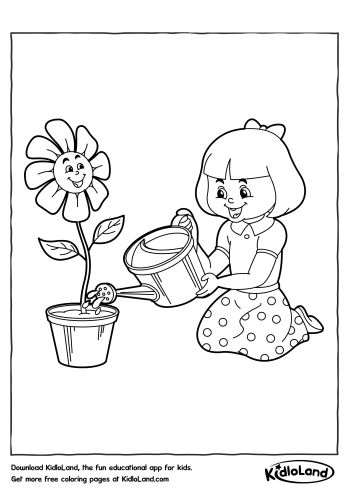 Download Free Coloring Pages 51 and educational activity