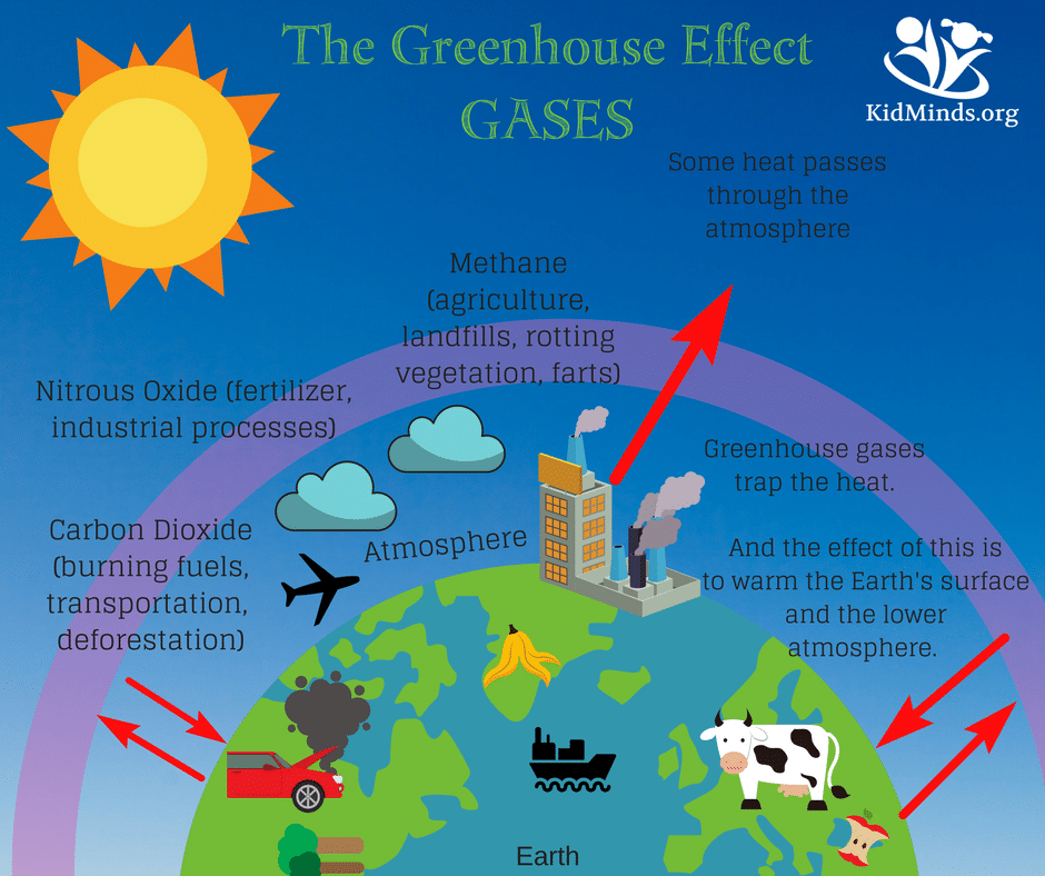 How to Explain the Greenhouse Effect to Kids with