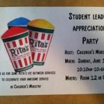 Student Leader Mania!