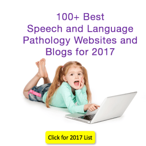 100 Best Speech and Language Websites and Blogs 2017