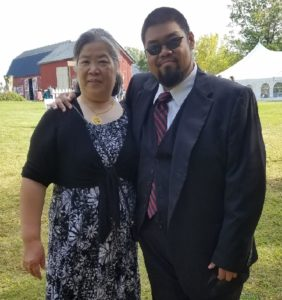 Jimmy Wong and Mother