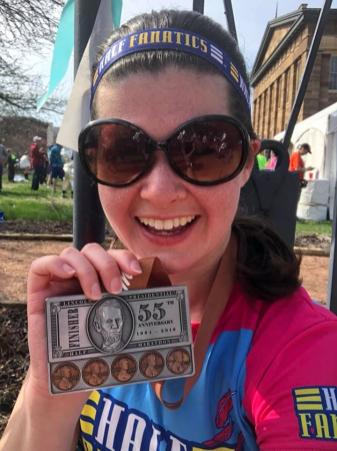 Half marathon #142!