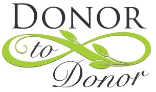 donor to donor logo