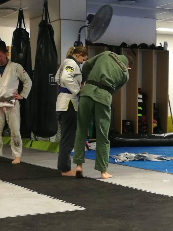 Getting my Blue Belt