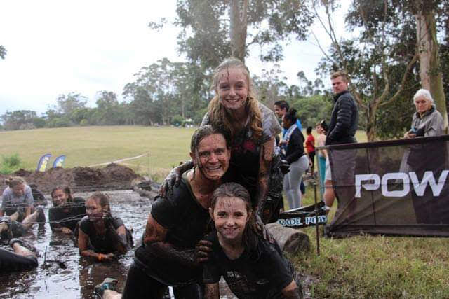 Muck Run fun with my nieces