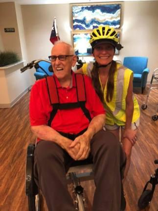 09-2019 My wheelchair bicycle joyride program