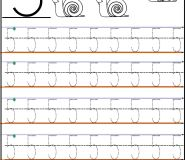 number 5 tracing worksheets for kindergarten
