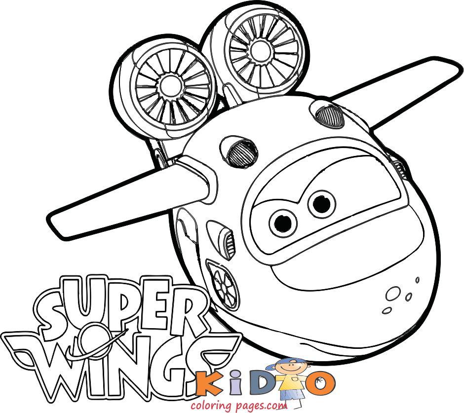 Super Wings Mira coloring books