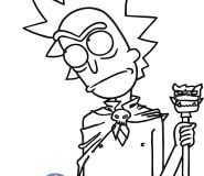 rick and morty coloring pages to print out