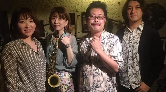 """2020/11/2″Latin Jazz Night""""赤坂G's Bar"""