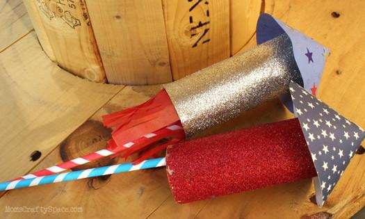 Paper Roll Rockets