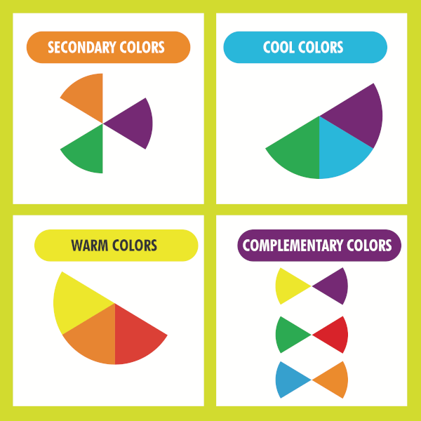 primary secondary colours for kids