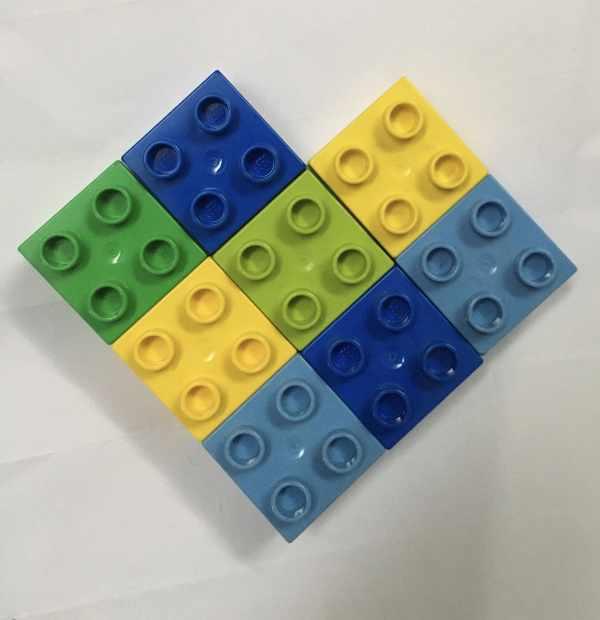 Valentine Lego activity