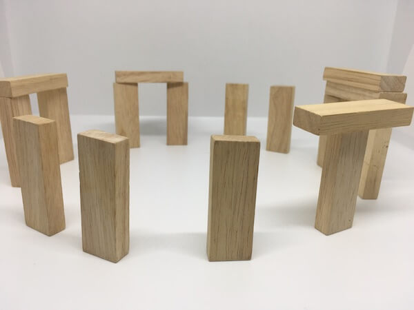 Jenga structures