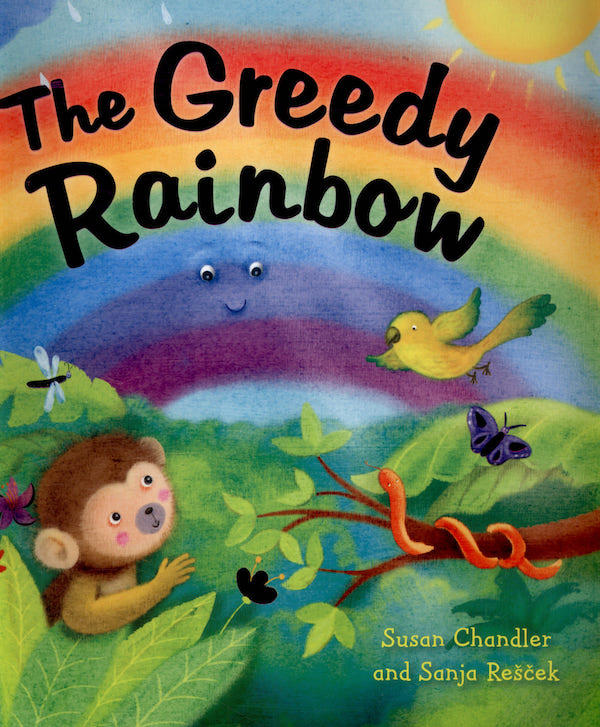 Rainbow book for kids