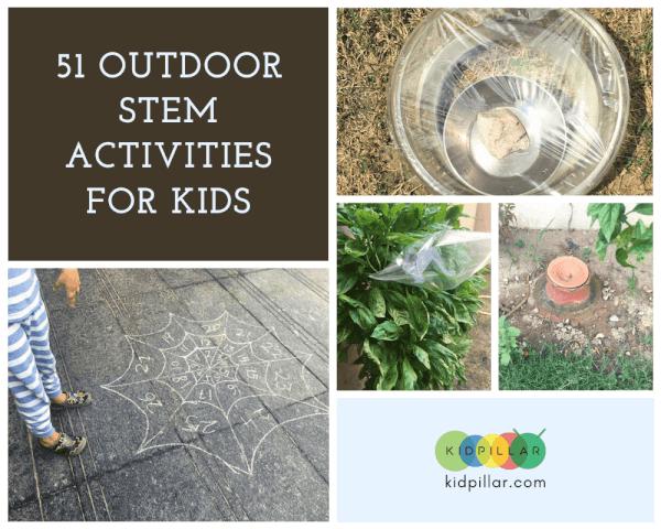 Outdoor STEM Activities for kids