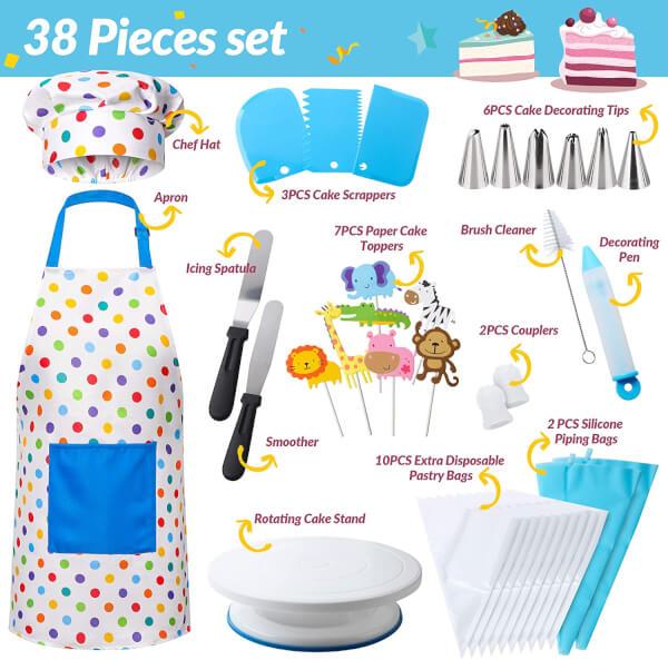 cake decoration set for kids