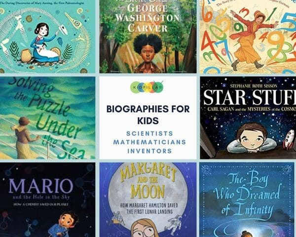 Scientists & Mathematicians Biographies for kids