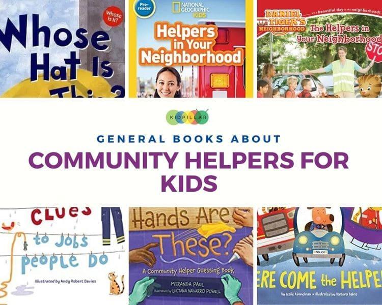 Community helper books for kids