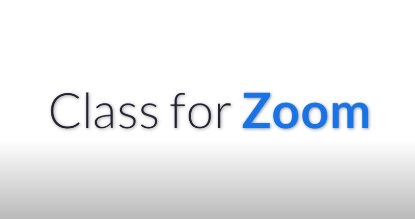 Class for Zoom