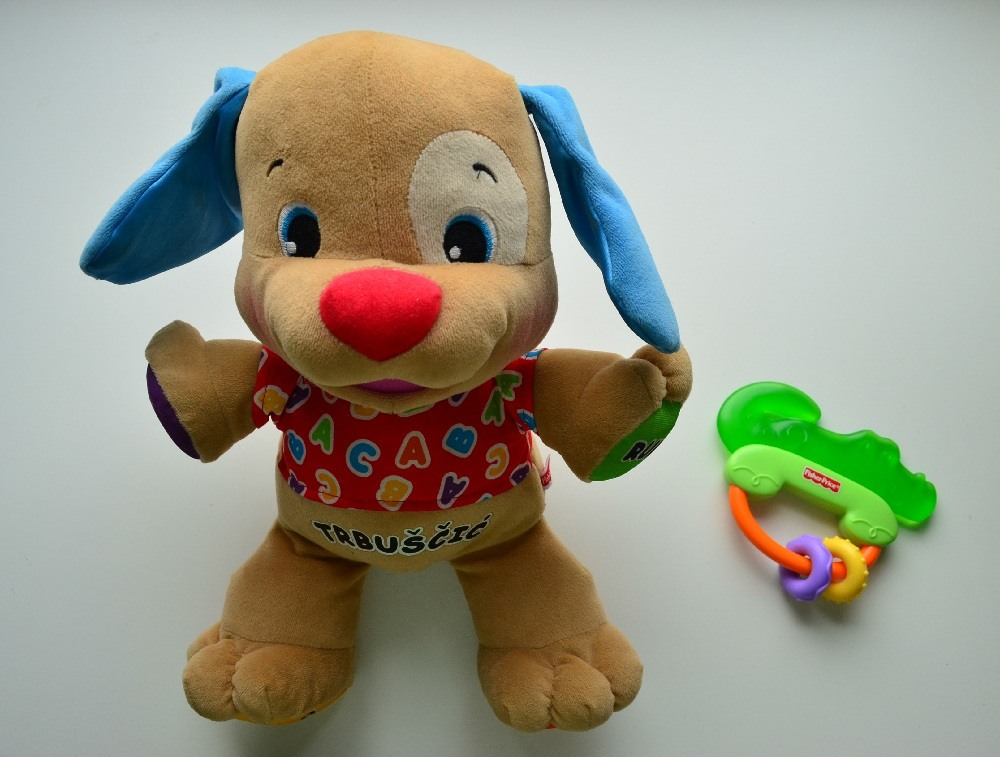 Fisher Price puppy and teether Toys