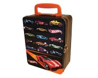 Hot Wheels 18 Car Vintage Tin case