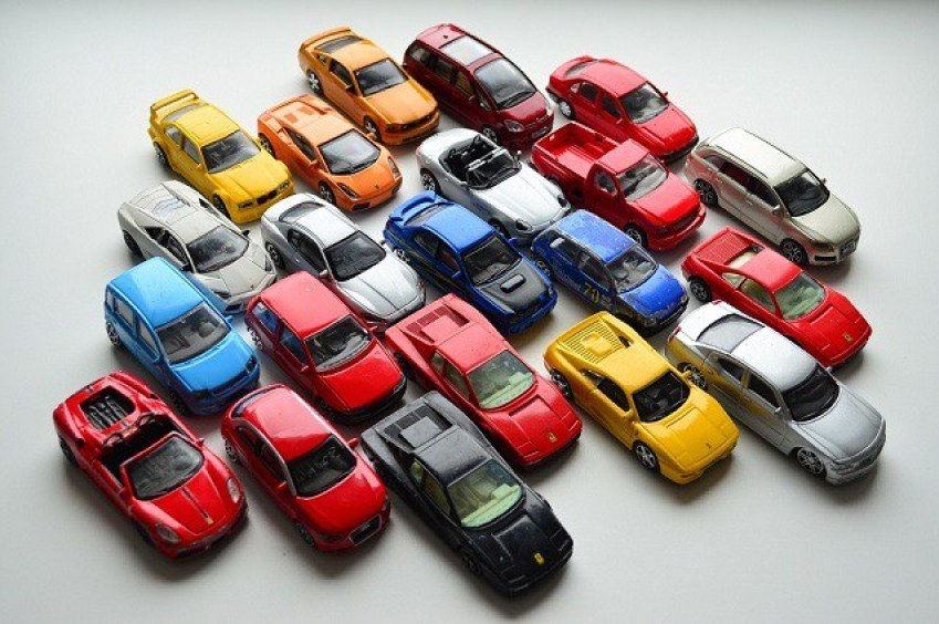 a lot of Bburago 1:43 diecast toy cars