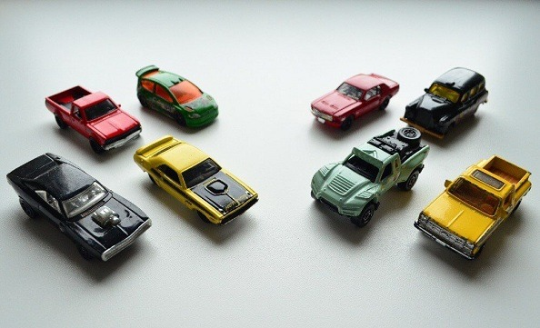 Hot Wheels and Matchbox series from Mattel