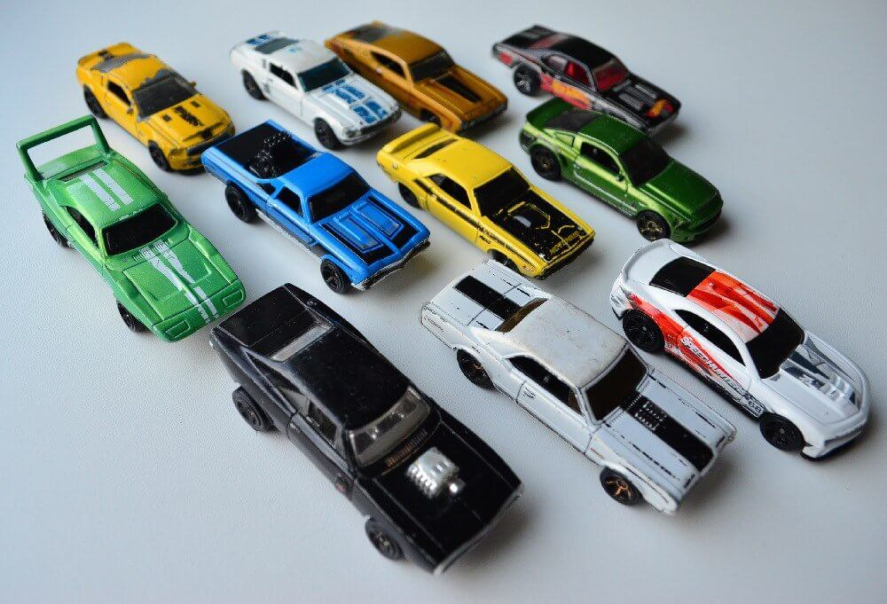 Hot Wheels Muscle Diecast Cars Kids Nook