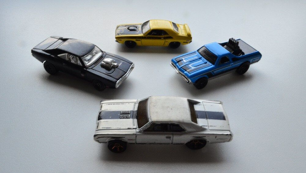 Hot Wheels Muscle Cars Kids Nook