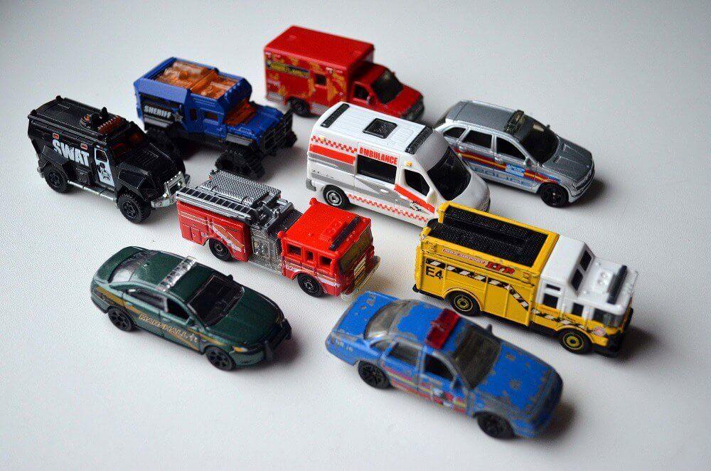 matchbox emergency vehicles ambulance fire truck police