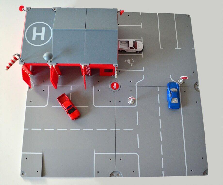 Siku World Fire Station play set with cars