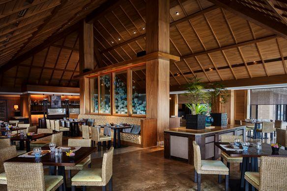 リッツカールトン沖縄の朝食会場