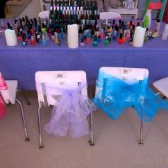 Kids Spa Chair Sling Stacking Patio Target Sarah 39s Party Images 7 Birthday Mani Pedi