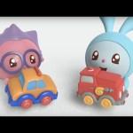 Малышарики – Машинка (12  серия) | Развивающие мультфильмы для самых маленьких 1,2,3,4 года