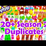 120+ Shopkins Season 2 Duplicates Toy Genie