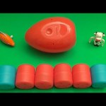 Angry Birds Kinder Surprise Egg Learn-A-Word! Spelling Food! Lesson 29