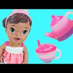 Baby Alive Color Surprise Drinks & Goes Potty Realistic Baby Doll Video by DCTC