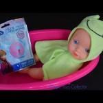 Baby Doll  Bath-time  with FROZEN Bath Bombs Color Twist ディズニー バスボール 入浴剤
