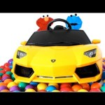 """""""BALL PIT SHOW"""" Learning Colors and Counting Surprise Toys Pez Minions Peppa Pig RainbowLearning"""