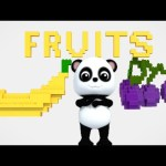 Bao Panda | Learn Fruits | Fruits Song For Kids And Childrens | 3D Nursery Rhymes